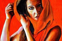 Małgorzata Limon malarstwo obraz pt. Weronika