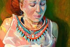 Małgorzata Limon malarstwo olej na płutnie