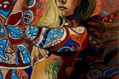 Małgorzata Limon malarstwo obraz pt. Adrianna2