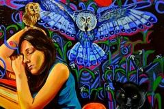 Małgorzata Limon malarstwo obraz pt. Kiedy rozum śpi budzą się demony