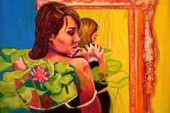 Małgorzata Limon malarstwo obraz pt. Lotos