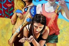 Małgorzata Limon malarstwo obraz pt. Vanitas