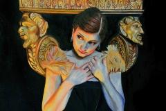 Małgorzata limon obraz pt. Karolina i fauny