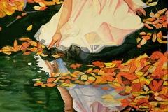 Małgorzata limon obraz pt. jesień