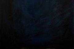 Małgorzata Limon 'Luty', olej na płótnie, 90x50cm, 2017