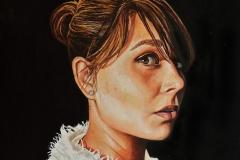 Małgorzata Limon. malarstwo autoportret