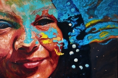 Małgorzata Limon. malarstwo obraz pt. Chi siamo