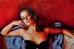 Małgorzata Limon. malarstwo obraz pt. La donna