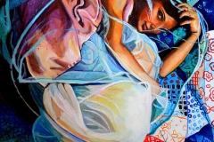 Małgorzata Limon. malarstwo obraz pt. kula
