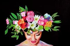 Małgorzata Limon. malarstwo obraz pt. la primavera