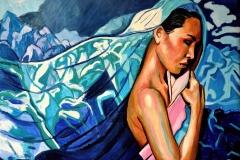 Małgorzata Limon. malarstwo obraz pt. podróż