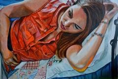 Małgorzata Limon. malarstwo obraz pt. sen