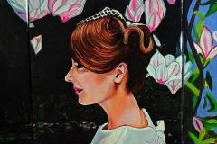 Małgorzata Limon. malarstwo obraz pt. ucieczka