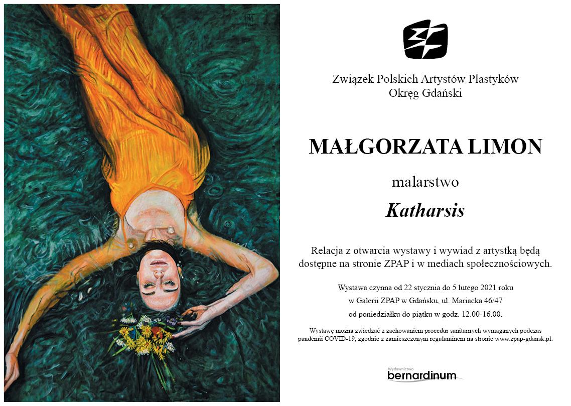 Małgorzata Limon wystawa Katharsis - Gdańsk 2021